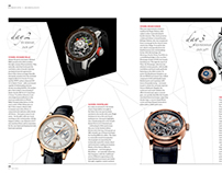 Layout Design - SIHH Horology