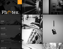 Photex Responsive WordPress Photography Theme
