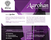 Aarohan '14, Official Brochure