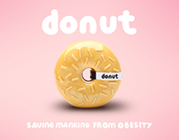 donut — saving mankind from obesity