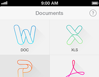 File Manager App iOS 7 Redesign