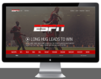 ESPN - Website Redesign