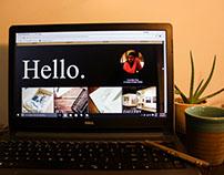Personal Website // Web Design