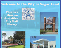 Marketing Banner for City of Sugar Land using Adobe CS6