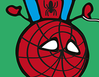 Kids Superheroes illustrations