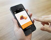 Mobile App - Wakizaki Restaurant