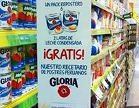 POP Promocional Leche Condensada GLORIA