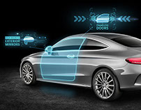 Mercedes-Benz C Class Coupé: Virtual Reality