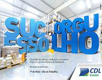 CDL Cuiabá - Dia do Trabalho