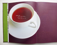 Book Content & Design: Immerse Into Tea