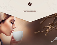 Kopiko One Page Site
