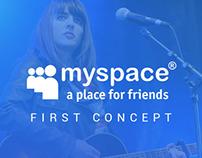 Myspace app concept