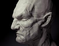 Alien Concept Bust - Sinestro