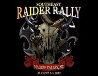 Raider Rally logo animation