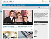 IT HeadLine 3 Responsive Joomla Magazine Template