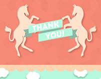 Ponyride IndieGoGo Thank You