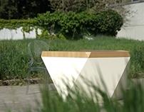 Prototype of table HEXAGON  in Milan 2014!!!