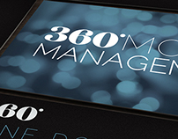 360 Model Management - Branding, Website & Print