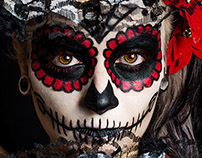 Photography - La Catrina - Sugar Skull MakeUp