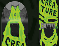 Creature Skateboards contest entry: 'Snot Beard'