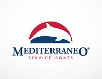 Mediterraneo Service Boats Logo