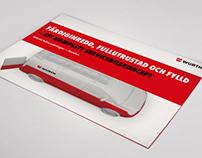 Custom car equipment folder