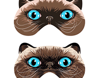 Update to Kitty Sleep Mask Design