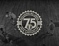 Gallagher-Iba Arena 75th Anniversary Identity
