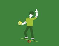 7UP - juggler