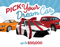 Sears - Shop Your Way® Pick Your Dream Car Sweepstakes