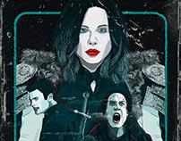 Underworld: Blood Wars VHS Cover