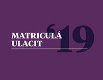 MATRICULA ULACIT