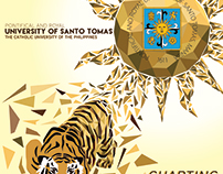 University Branding plate