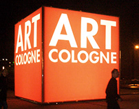 ART COLOGNE - 3D-BRANDING RELAUNCH