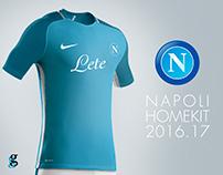 SSC Napoli Home Kit 2016-2017