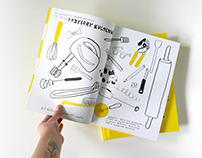 Gotujemy – an activity book about cuisine and cooking