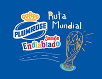 Jamón Endiablado Plumrose - Ruta Mundial