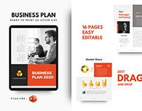 Business plan 2021 template