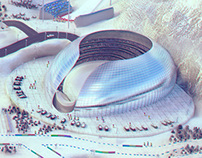 Winter Sports - 3d game illustration