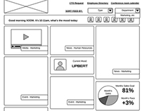UX Design, Wireframing, Prototyping