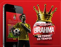 """APP Brahma - """"Sua seleção de todos os tempos"""""""