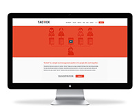 Tactick Brand Identity & Website