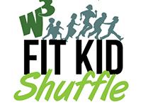 W3 Fit Kid Shuffle Branding