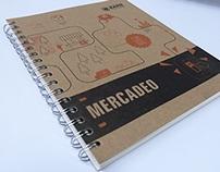 Cuaderno de pregrado en Mercadeo