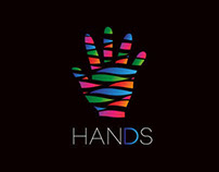 Hands logo + business cards