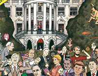 Us presidents at the white house