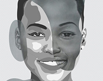 Lupita portrait - Kenya Creativity Competition 2014