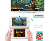 Wii U and 3DS Integration Concept