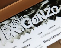 Revista Doctor Gonzo Website