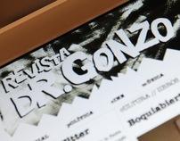 Revista Doctor Gonzo Website
